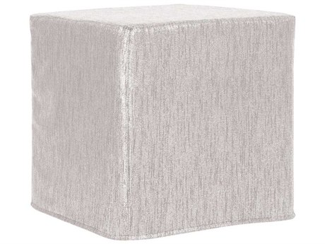 Howard Elliott Glam Sand No Tip Block Ottoman