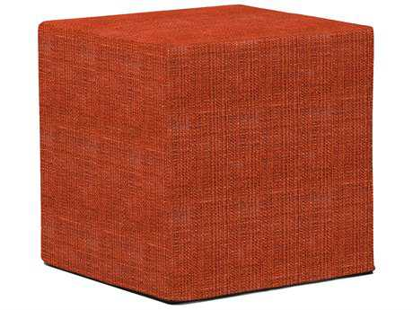 Howard Elliott Coco Coral No Tip Block Ottoman