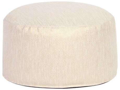 Howard Elliott Glam Snow Foot Pouf