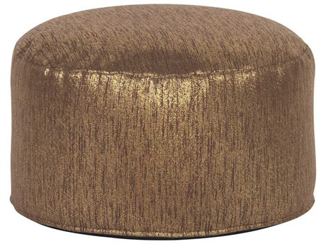 Howard Elliott Glam Chocolate Foot Pouf