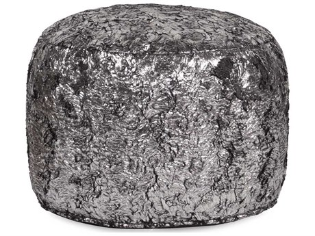 Howard Elliott Silver Fox Tall Pouf