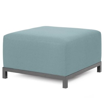 Howard Elliott Sterling Breeze Axis Ottoman Slipcover