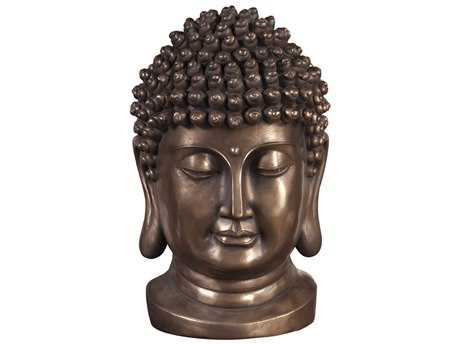 Howard Elliott Bronze Buddha Bust