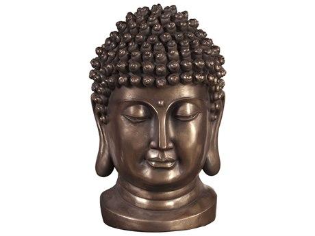 Howard Elliott Bronze Buddha Bust