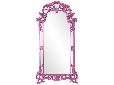 Howard Elliott Imperial 44 x 85 Hot Pink Wall Mirror