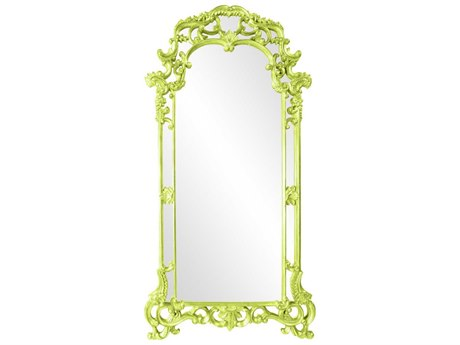 Howard Elliott Imperial 44 x 85 Green Wall Mirror