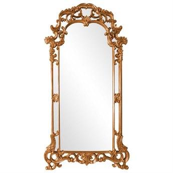 Howard Elliott Imperial 44 x 85 Orange Wall Mirror