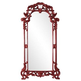Howard Elliott Imperial 44 x 85 Red Wall Mirror