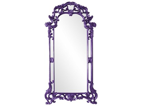 Howard Elliott Imperial 44 x 85 Royal Purple Wall Mirror