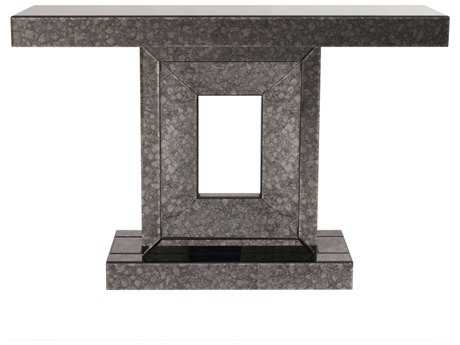 Howard Elliott Atlas 47 x 13 Grey Antique Mirrored Console Table