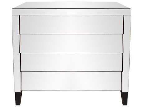 Howard Elliott Osaka Mirrored 4 Drawer Dresser