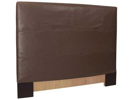 Howard Elliott Full Queen Slipcovered 64 x 53 Brown Headboard
