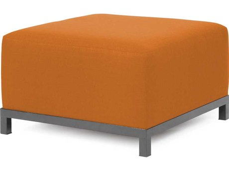 Howard Elliott Axis Sterling Canyon Ottoman - Titanium Frame