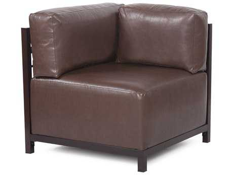 Howard Elliott Axis Avanti Pecan Corner Chair - Mahogany Frame
