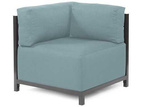 Howard Elliott Axis Sterling Breeze Corner Chair - Titanium Frame