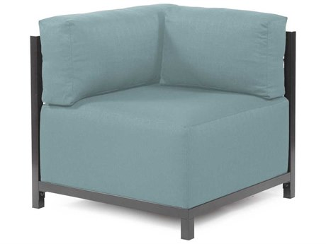 Howard Elliott Axis Sterling Breeze Corner Chair - Titanium Frame