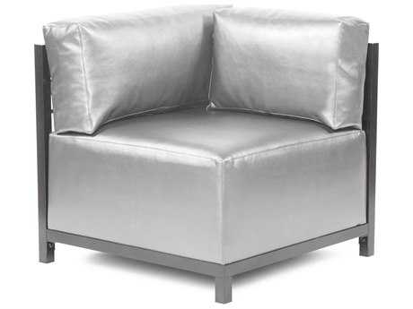 Howard Elliott Axis Shimmer Mercury Corner Chair - Titanium Frame