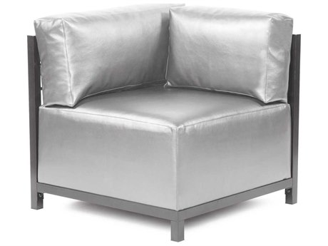 Howard Elliott Axis Shimmer Mercury Corner Chair - Titanium Frame