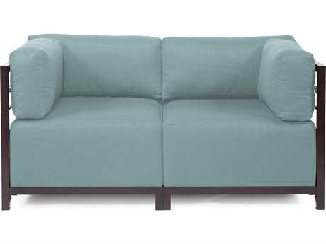 Howard Elliott Axis Sterling Breeze Two-Piece Sectional Sofa