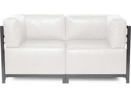Howard Elliott Axis Avanti White Two-Piece Sectional Sofa