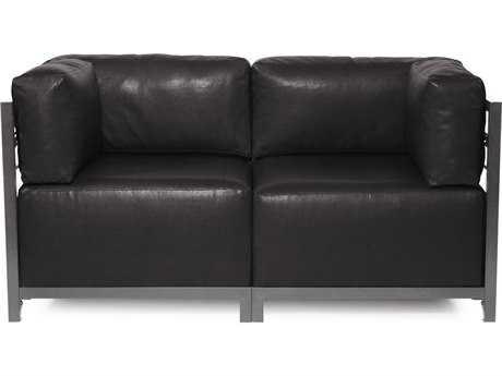 Howard Elliott Axis Avanti Black Two-Piece Sectional Sofa
