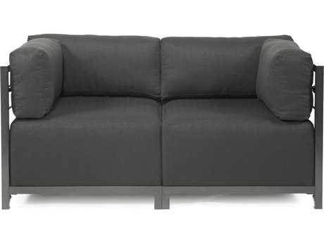 Howard Elliott Axis Sterling Charcoal Two-Piece Sectional Sofa