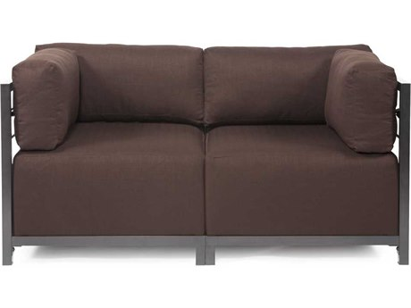 Howard Elliott Axis 65 x 32.5 Sectional Sofa
