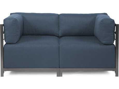 Howard Elliott Axis Sterling Indigo Two-Piece Sectional Sofa