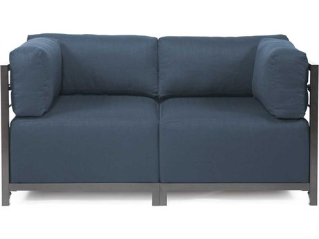 Howard Elliott Axis Sterling Indigo Two-Piece Sectional Sofa