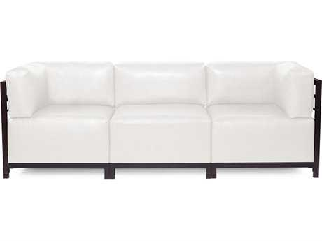 Howard Elliott Axis Avanti White Three-Piece Sectional Sofa