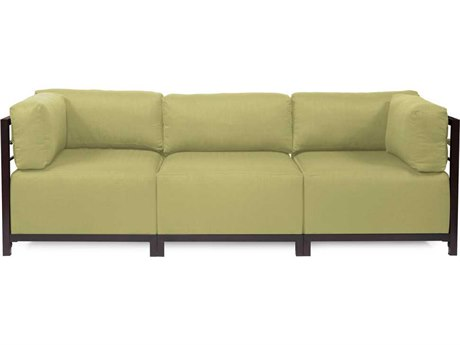 Howard Elliott Axis Sterling Willow Three-Piece Sectional Sofa
