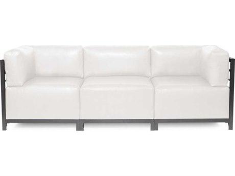 Howard Elliott Axis Avanti White Three-Piece Sectional Sofa