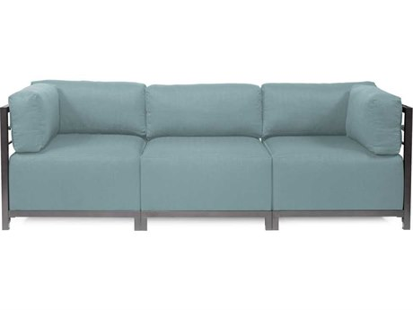 Howard Elliott Axis Sterling Breeze Three-Piece Sectional Sofa