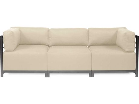 Howard Elliott Axis Sterling Sand Three-Piece Sectional Sofa
