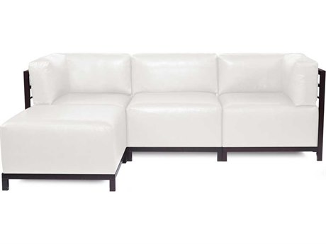Howard Elliott Axis Avanti White Four-Piece Sectional Sofa