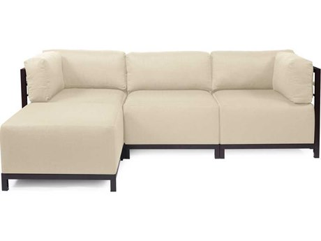Howard Elliott Axis Howard Elliott Sterling Sand Four-Piece Sectional Sofa