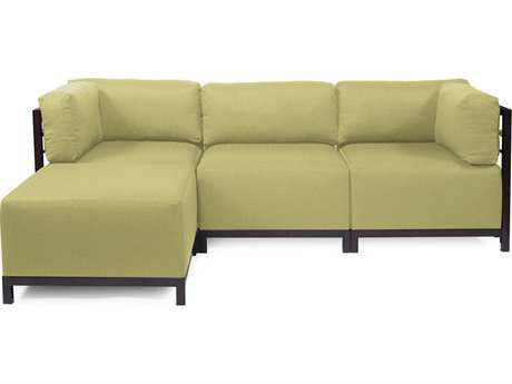Howard Elliott Axis Sterling Willow Four-Piece Sectional Sofa