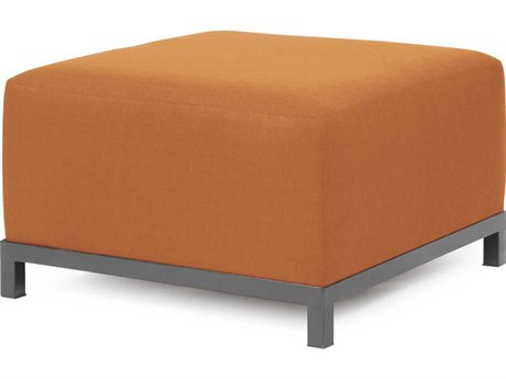 Howard Elliott Seascape Titanium Frame Canyon Axis Ottoman