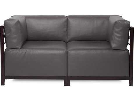 Howard Elliott Axis Atlantis Black Two-Piece Sectional Sofa