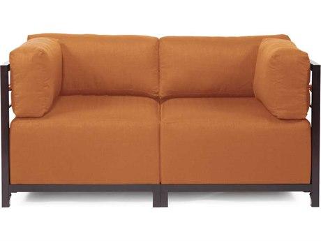 Howard Elliott Seascape Mahogany Canyon Axis Two-Piece Sectional Sofa