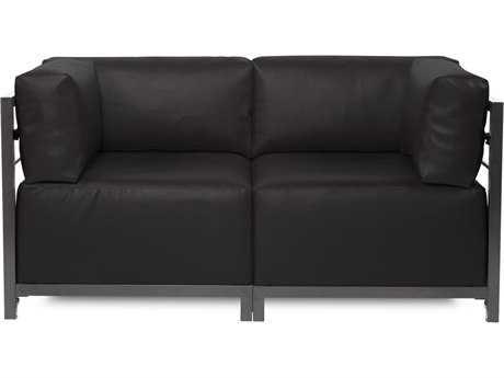 Howard Elliott Axis Atlantis Black Two-Piece Sectional Sofa