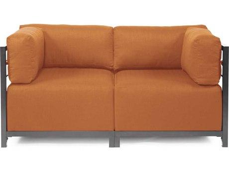 Howard Elliott Seascape Titanium Canyon Axis Two-Piece Sectional Sofa