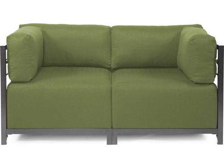 Howard Elliott Seascape Titanium Moss Axis Two-Piece Sectional Sofa