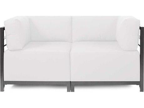 Howard Elliott Seascape Titanium Natural Axis Two-Piece Sectional Sofa