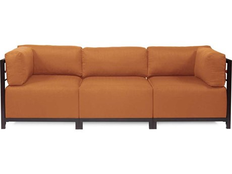 Howard Elliott Seascape Mahogany Canyon Axis Three-Piece Sectional Sofa