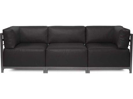 Howard Elliott Axis Atlantis Black Three-Piece Sectional Sofa