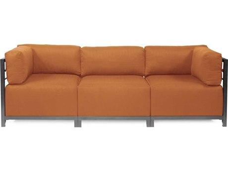 Howard Elliott Seascape Titanium Canyon Axis Three-Piece Sectional Sofa