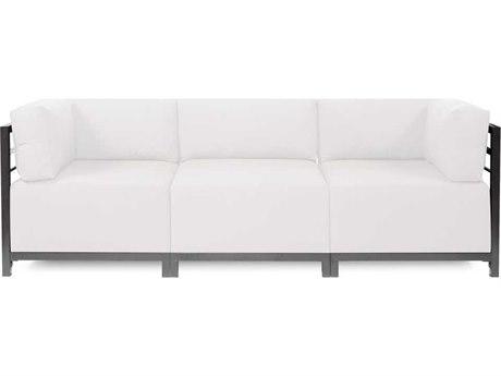 Howard Elliott Seascape Titanium Natural Axis Three-Piece Sectional Sofa