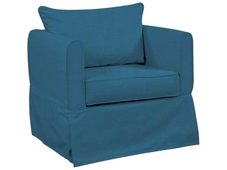 Howard Elliott Alexandria Seascape Turquoise Chair