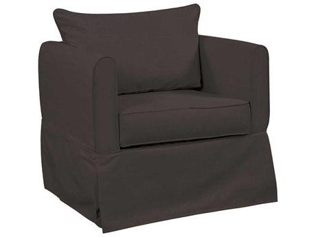 Howard Elliott Alexandria Seascape Charcoal Chair